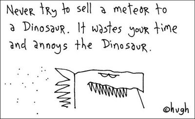 Image result for hugh macleod dinosaur