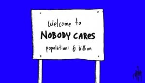 nobody cares. get over it.