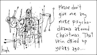 christmas pyscho-drama