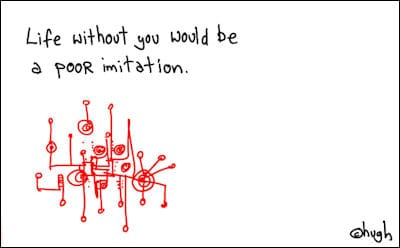 gapingvoid's thoughts on blogging, 2010