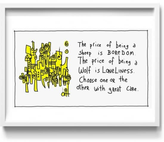 a new direction for gapingvoid…