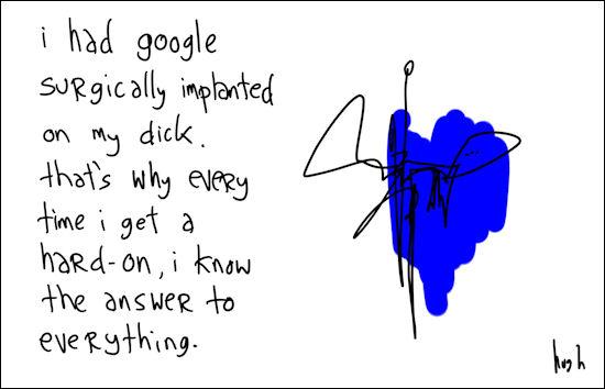 i had google
