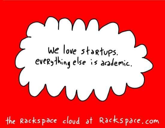 """we love startups"""