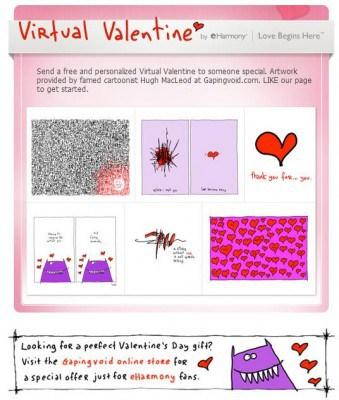 facebook virtual valentines