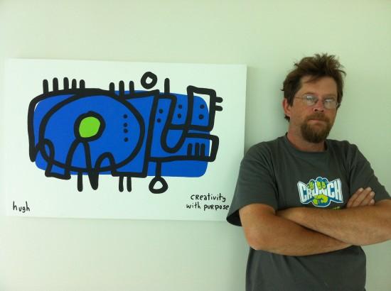 """My work doesn't belong in art galleries, it belongs in cubicles."""