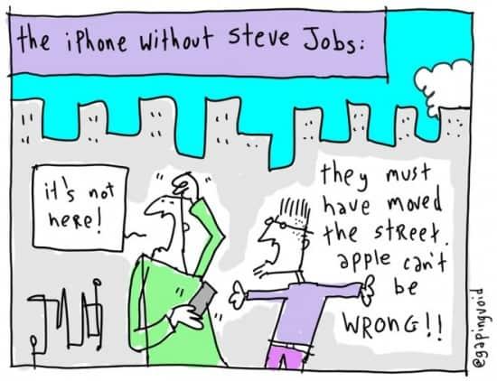 RIP Steve Jobs, one year on…