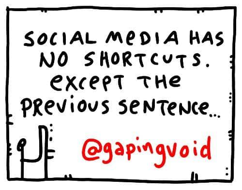 """""""Social Media Has No Shortcuts"""""""