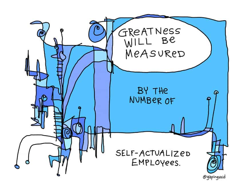 Self actualized employees
