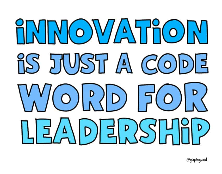 The secret to innovation