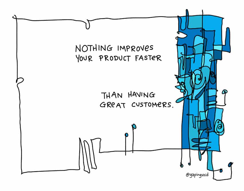 nothing improves your product faster