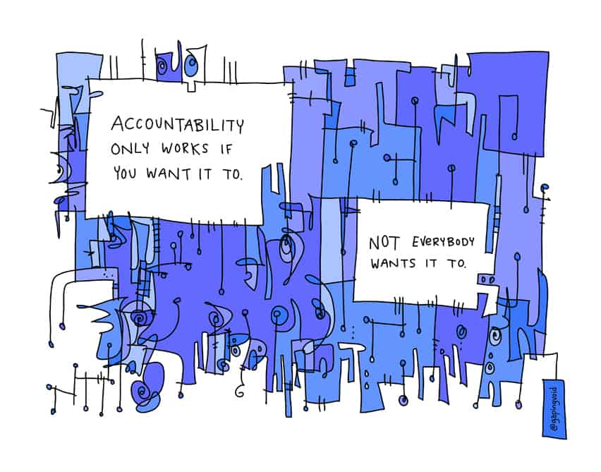 accountability only works if…