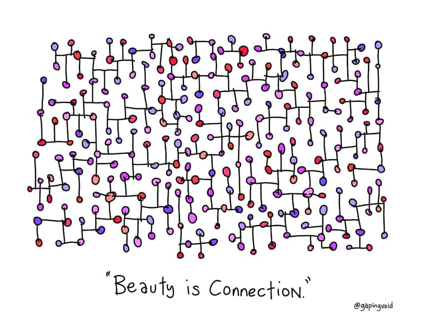 beauty is connection