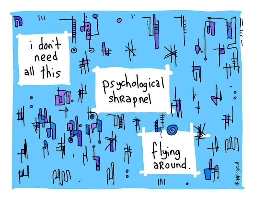 psychological sharpnel