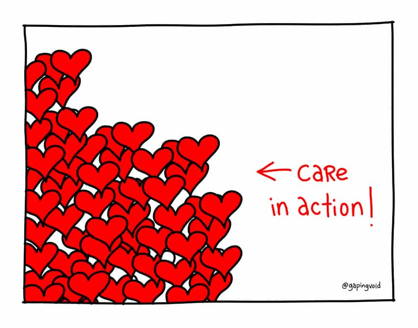 Welcome to the weekly gapingvoid healthUX