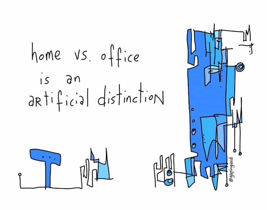 home vs office