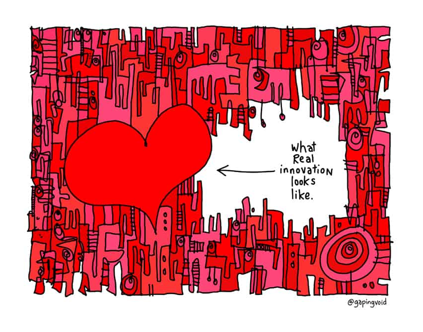 What Real Innovation Looks Like Gapingvoid