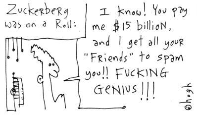 hugh's second law [zuckerberg was on a roll]
