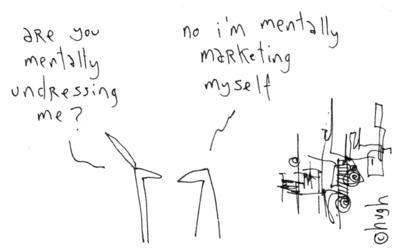 mentally undressing