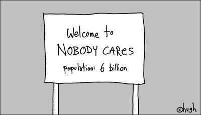 "the ""nobody cares"" manifesto"