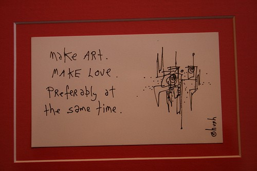 make art make love