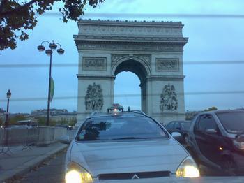 arrived in paris safely
