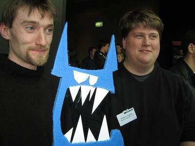 blue monster in oz