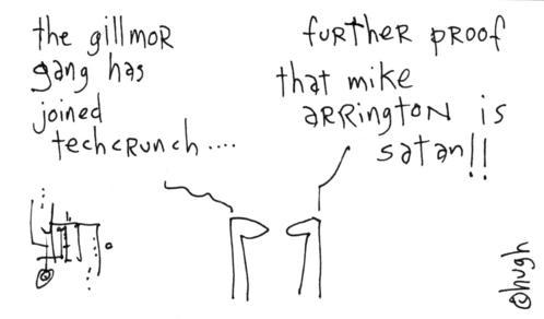 gillmor gang joins the techcrunch network