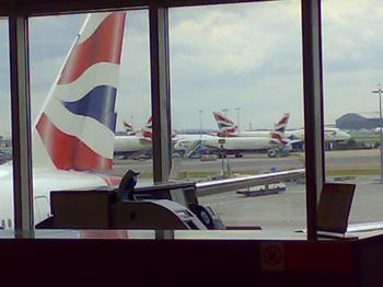 greetings from heathrow airport