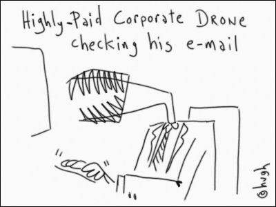 highly-paid corporate drone