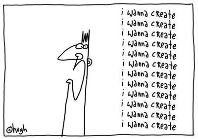 i wanna create
