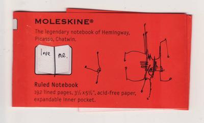 moleskine label