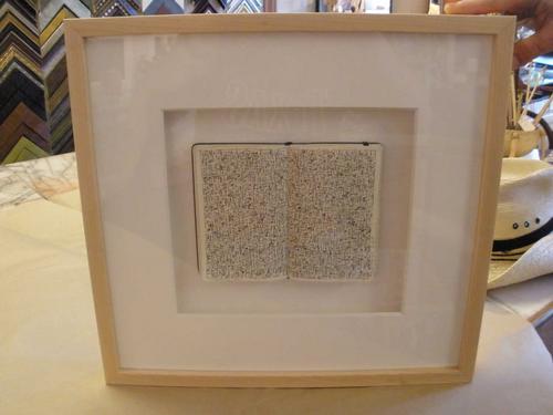 """""""moleskine 42"""" framed"""