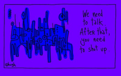 second gapingvoid print in the works, or, why i'm not going down the gallery route