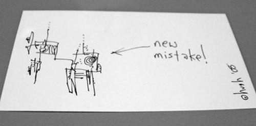 new mistake