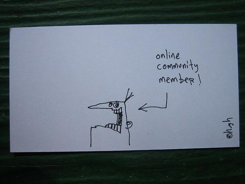 online community member