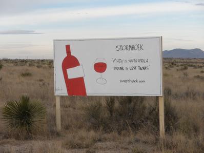 stormhoek in the west texas desert