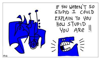 stupid [blue]