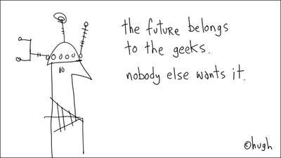 """think geek"""