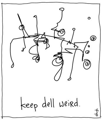 keep dell weird