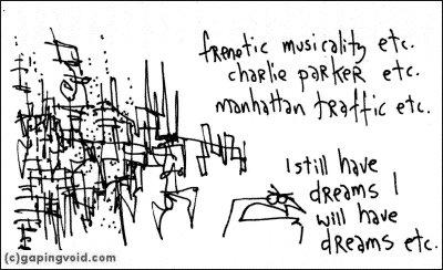 frenetic musicality etc.