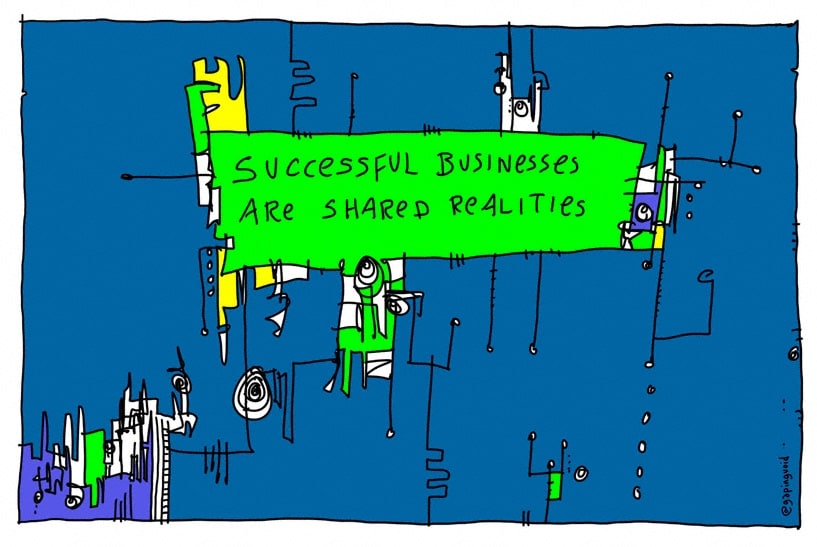 successful businesses are shared realities