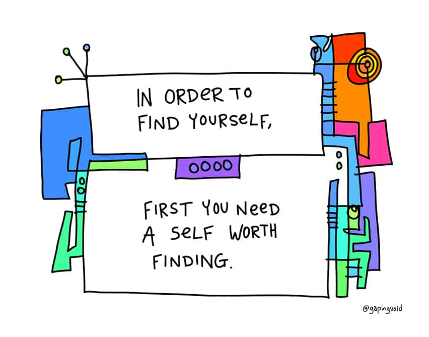 finding yourself is a journey