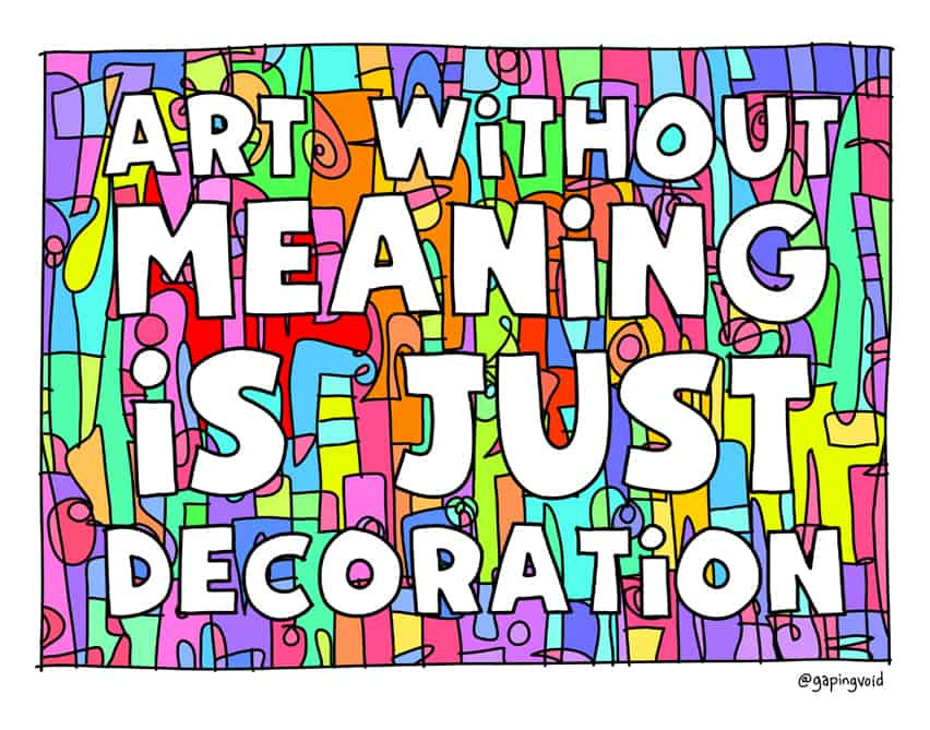 art-without-meaning