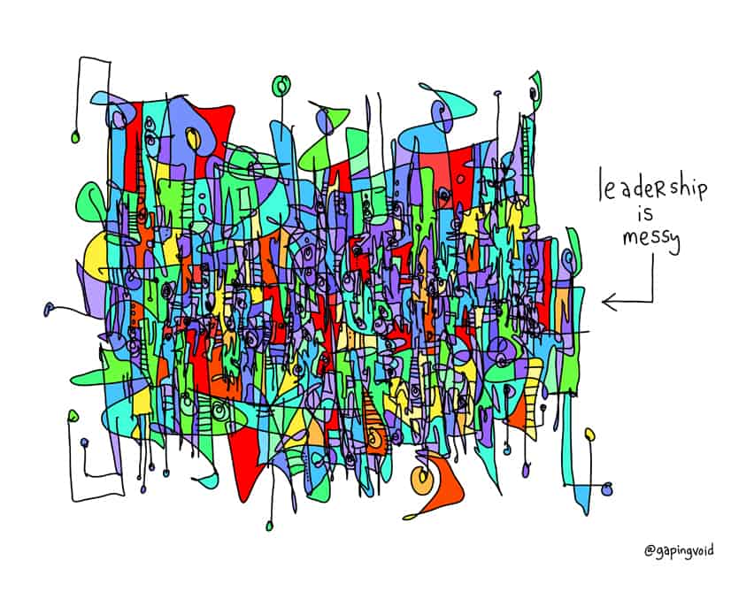 leadership-is-messy