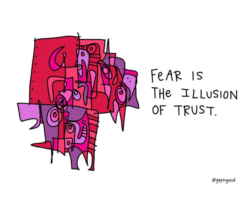 breaking down fear