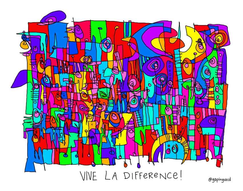 Vive La Difference!