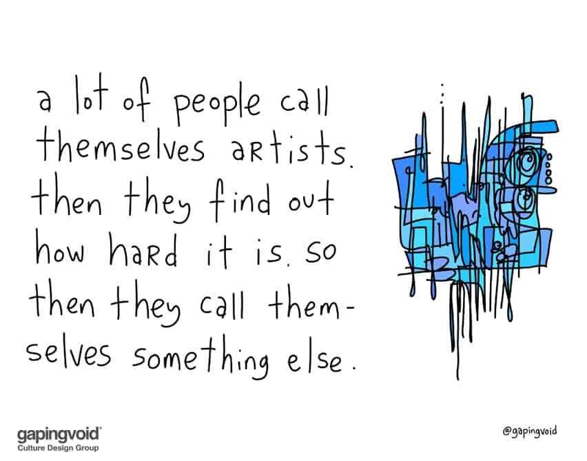 The Work Ethic Of An Artist