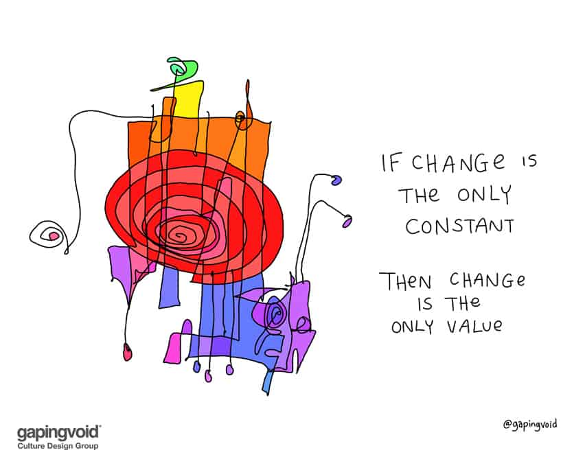 Maybe the need is just change