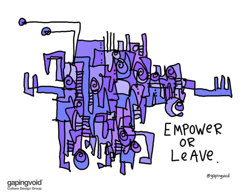 empower or leave