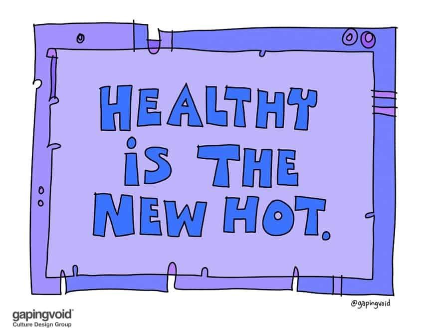 healthy is the new hot